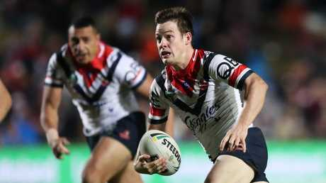 Roosters gun Luke Keary is starting to live up to the hype he had as a junior. Picture: Brett Costello