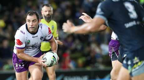 Storm captain Cameron Smith has been knocked off his perch as the No.1 player. Picture: AAP Image/Michael Chambers