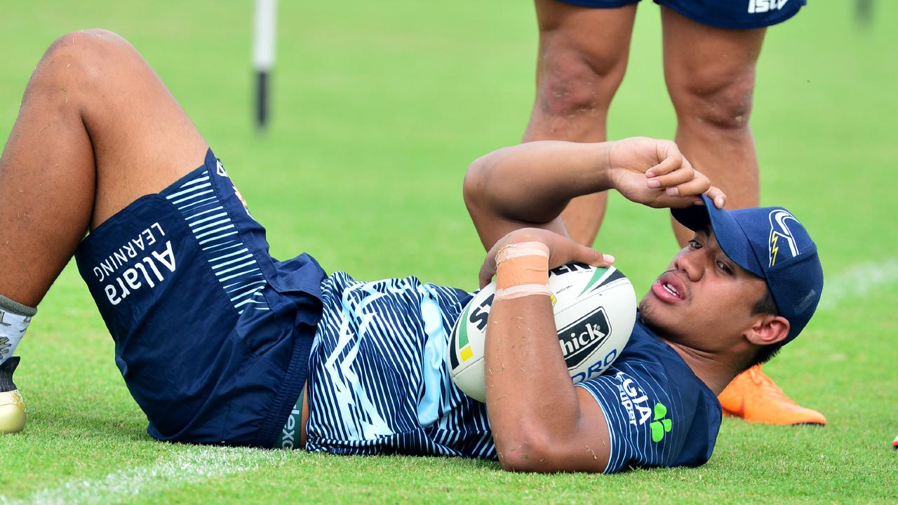 Murray Taulagi is just a teenager but is making waves up north. Picture: Evan Morgan