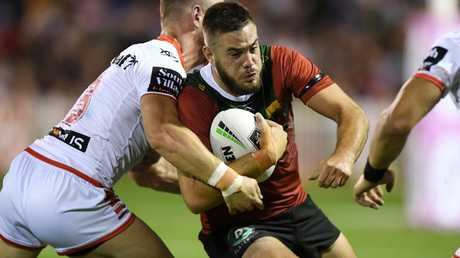 Corey Allan had a massive game for the Rabbitohs. Picture: NRL Photos