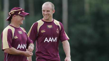 Kevin Walters and Darren Lockyer enjoyed plenty of success together.