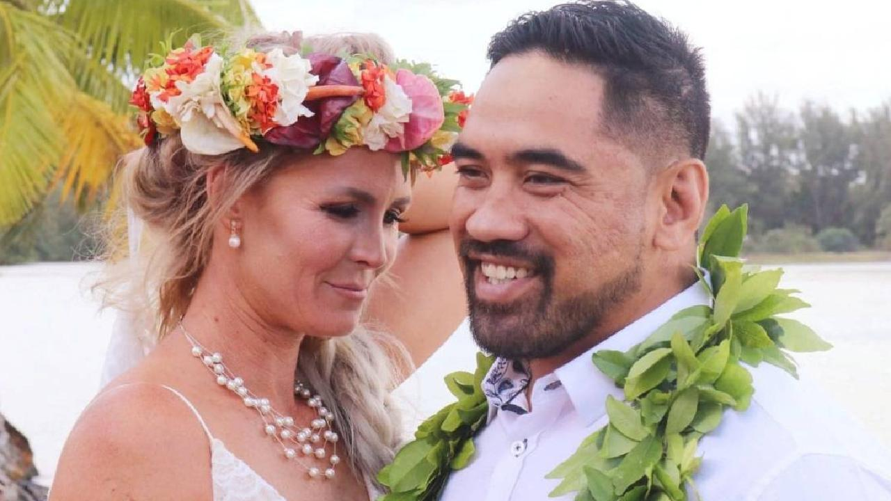 Tegan Iakimo, 36, and Jerome Iakimo, 32, had their wedding day ruined after suppliers were a no-show. Picture: Facebook