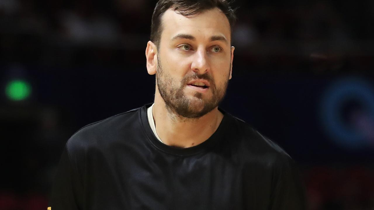Bogut could line up against the Spurs. (Photo by Mark Evans/Getty Images)