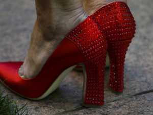 Truth about Bishop's famous red heels