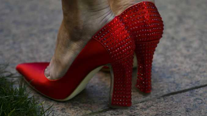 Julie Bishop's famous shoes. Picture: AAP