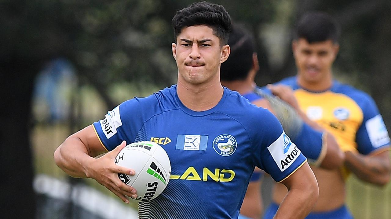 Dylan Brown's strong trial form has seen him join the Eels' top squad.