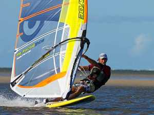 Windsurfing event attracts national competitors, boosts town