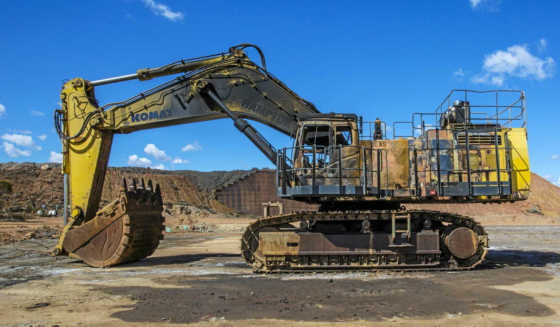 2008 Komatsu PC1250-8R excavator.
