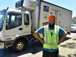 Ranjit loves trucking in Australia