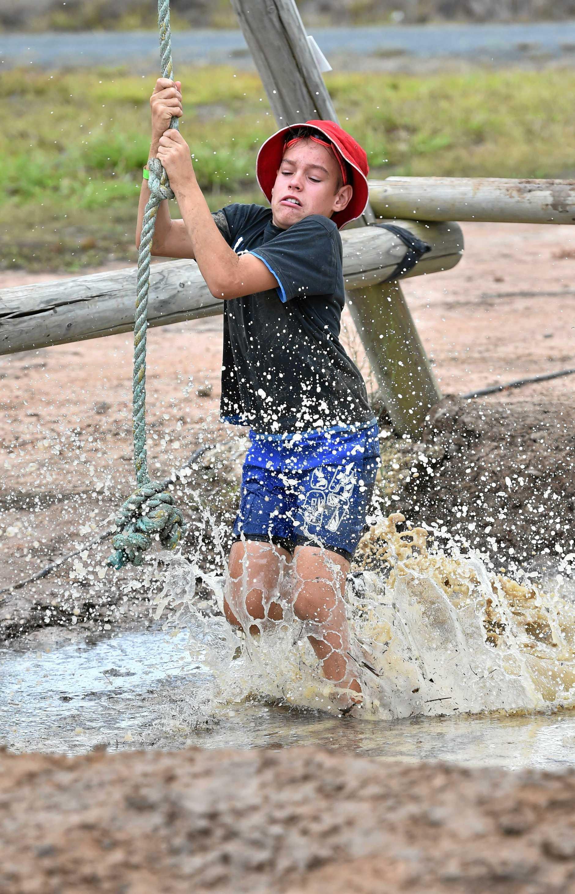 Tuff Dunga course at Australia Adventure Park - Nicholas Porter-Nitz.