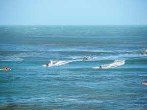 Wave of anger over Noosa jet ski swarm