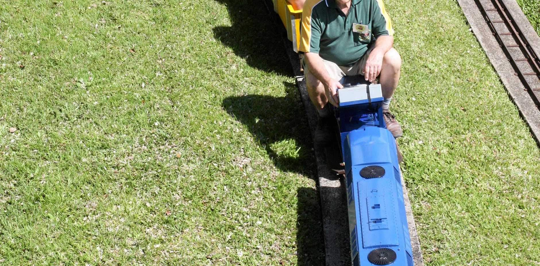 FLASHBACK: Students from Nambour and Currimundi Special Schools enjoy the mini-train rides at Nambour put on by the Sunshine Coast Railway Modellers Society.