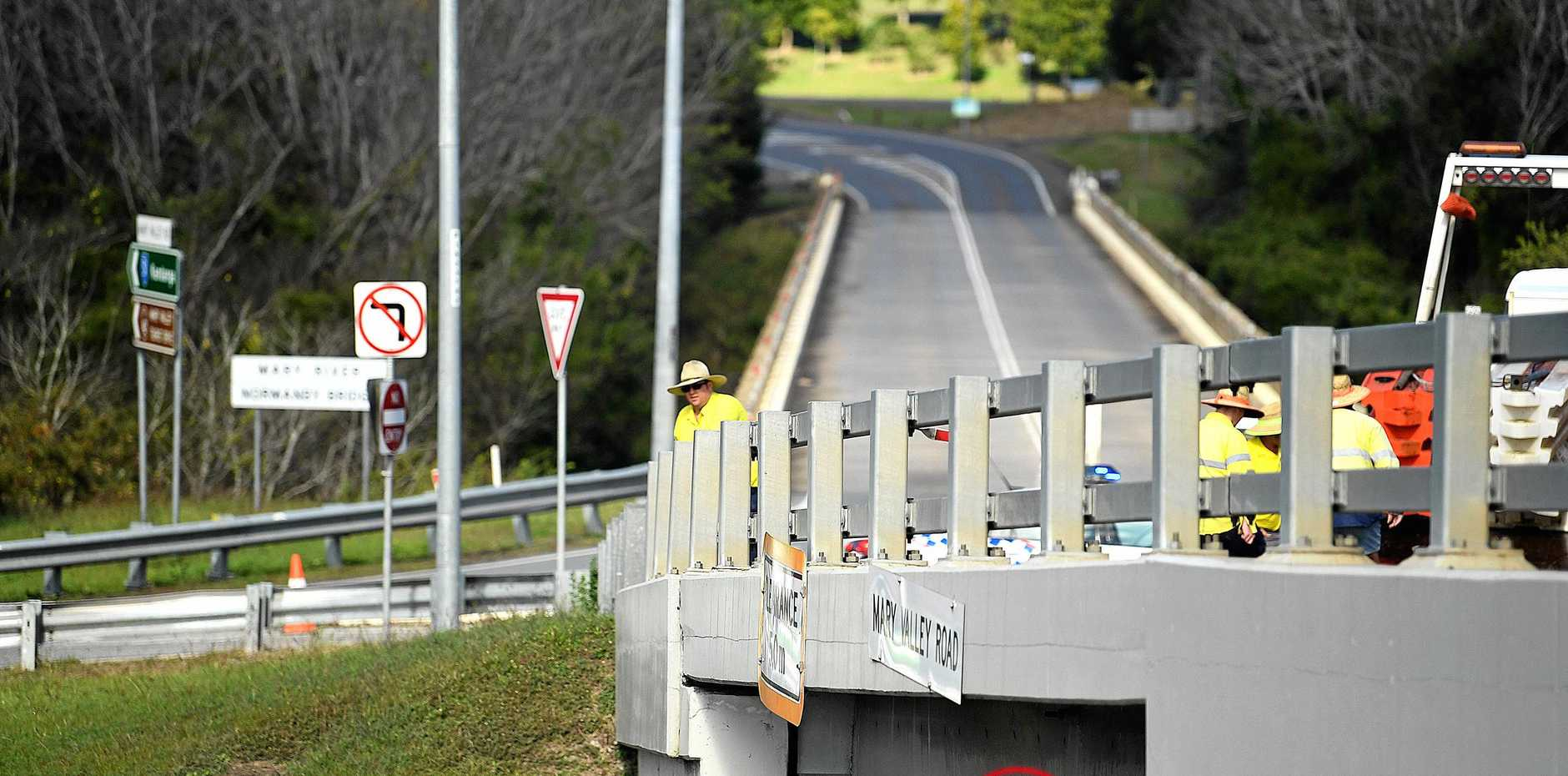 Gympie bridge repairs off again after Bruce Hwy truck crash | Gympie