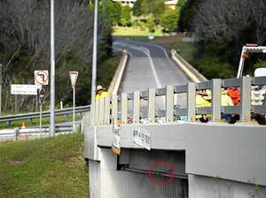 Gympie bridge repairs off again after Bruce Hwy truck crash