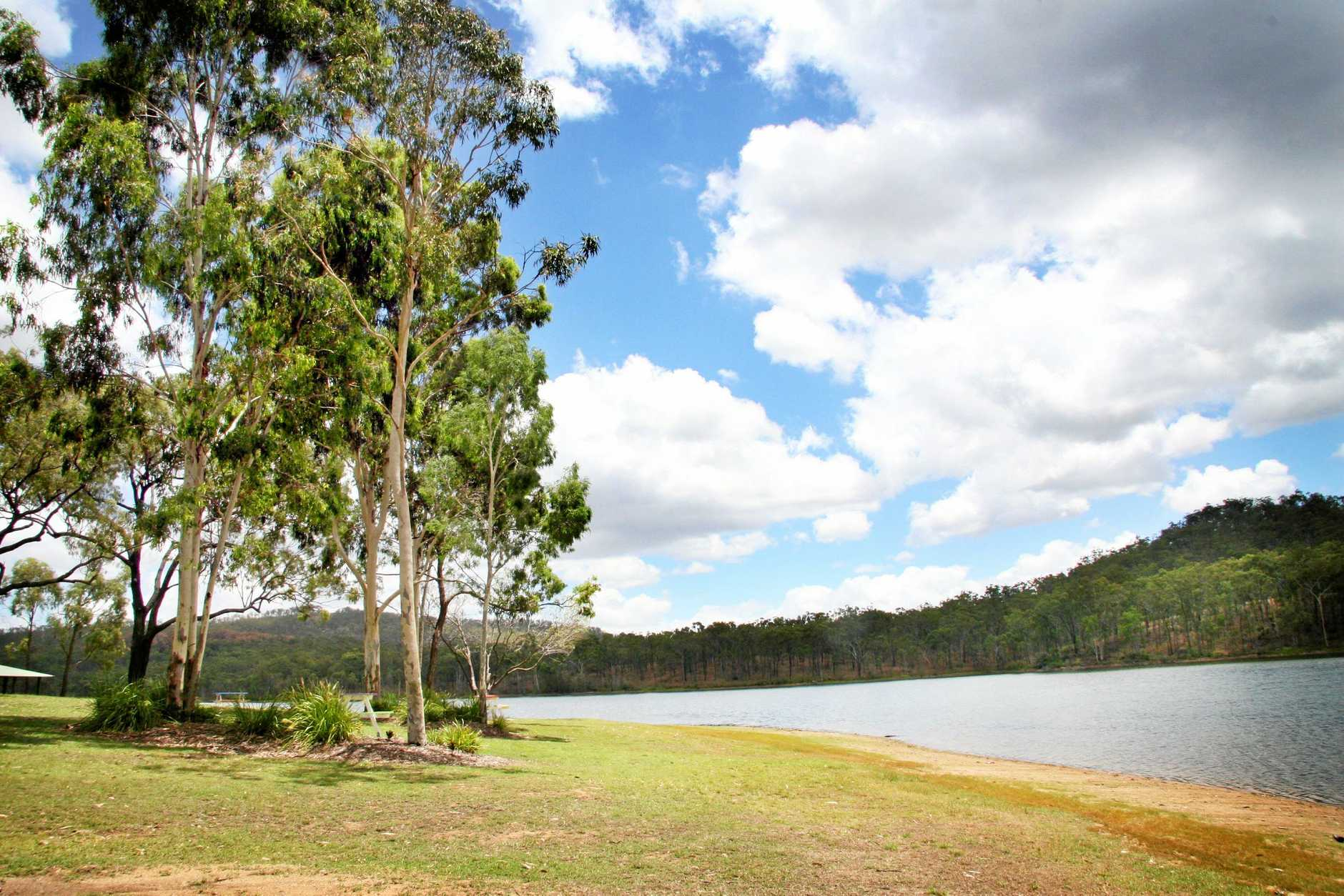 Mount Morgan's dam will be a key part of future tourism strategies.
