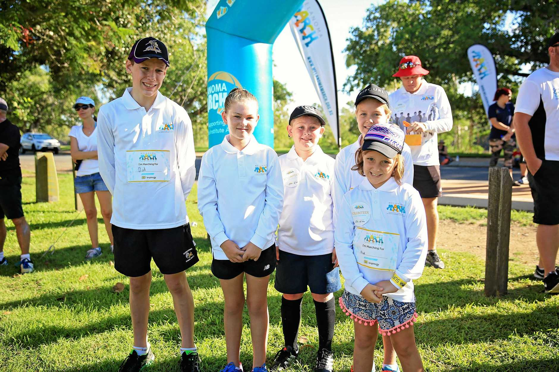 Fun for all at last year's Melanoma March in Rockhampton.
