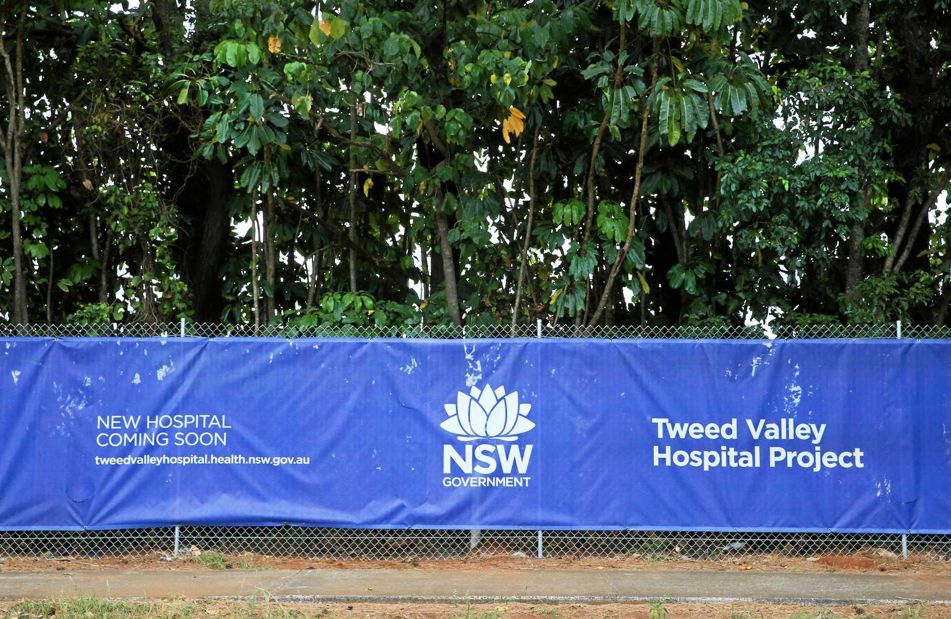 The new Tweed Valley Hospital site at Cudgen.