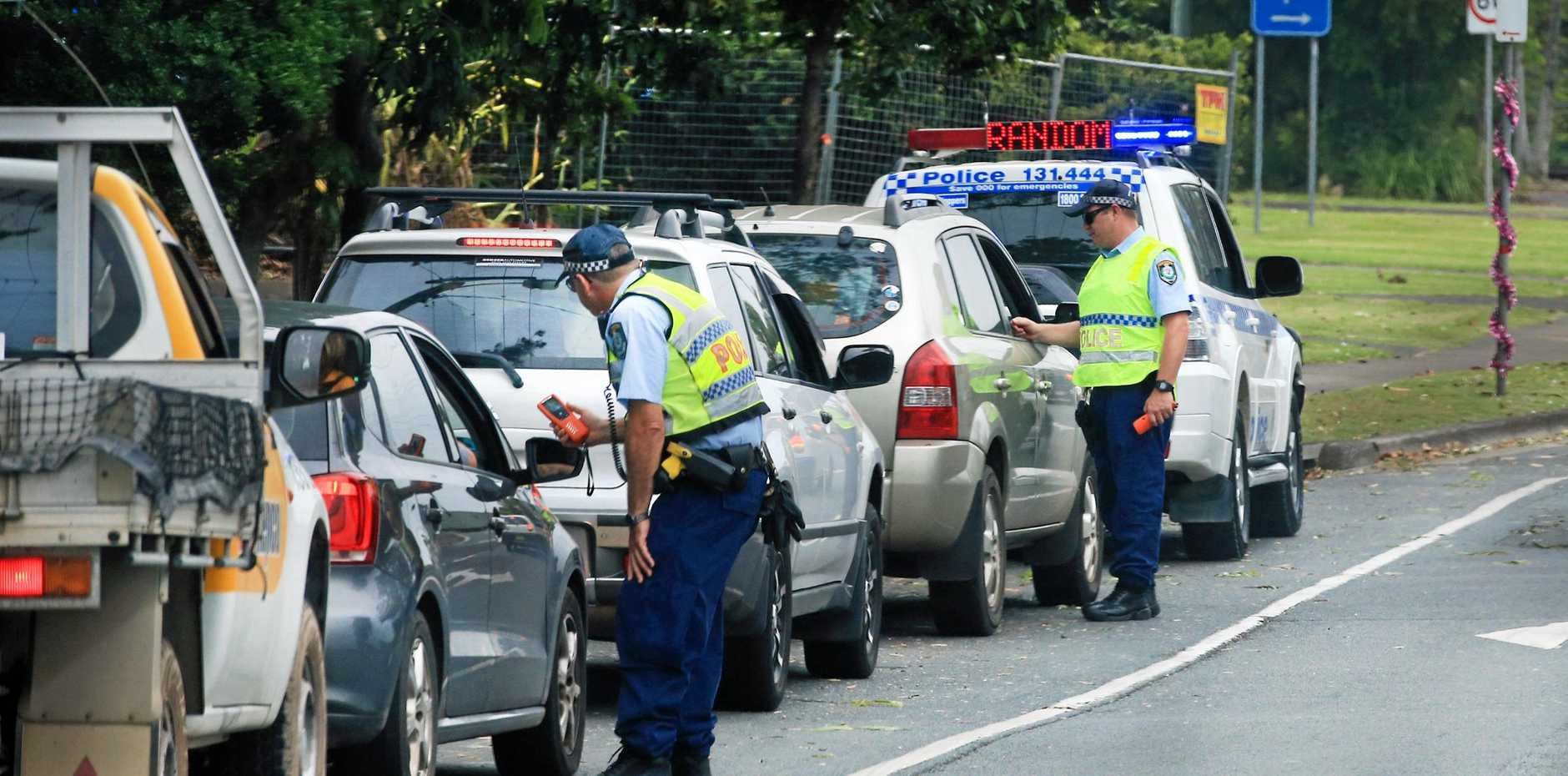 FINED: Speeders were among the people fined during a road blitz at the weekend.
