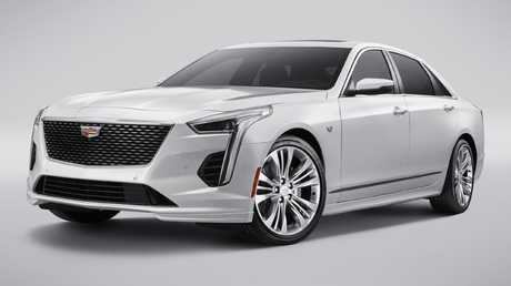 The CT6 is a big luxury sedan.