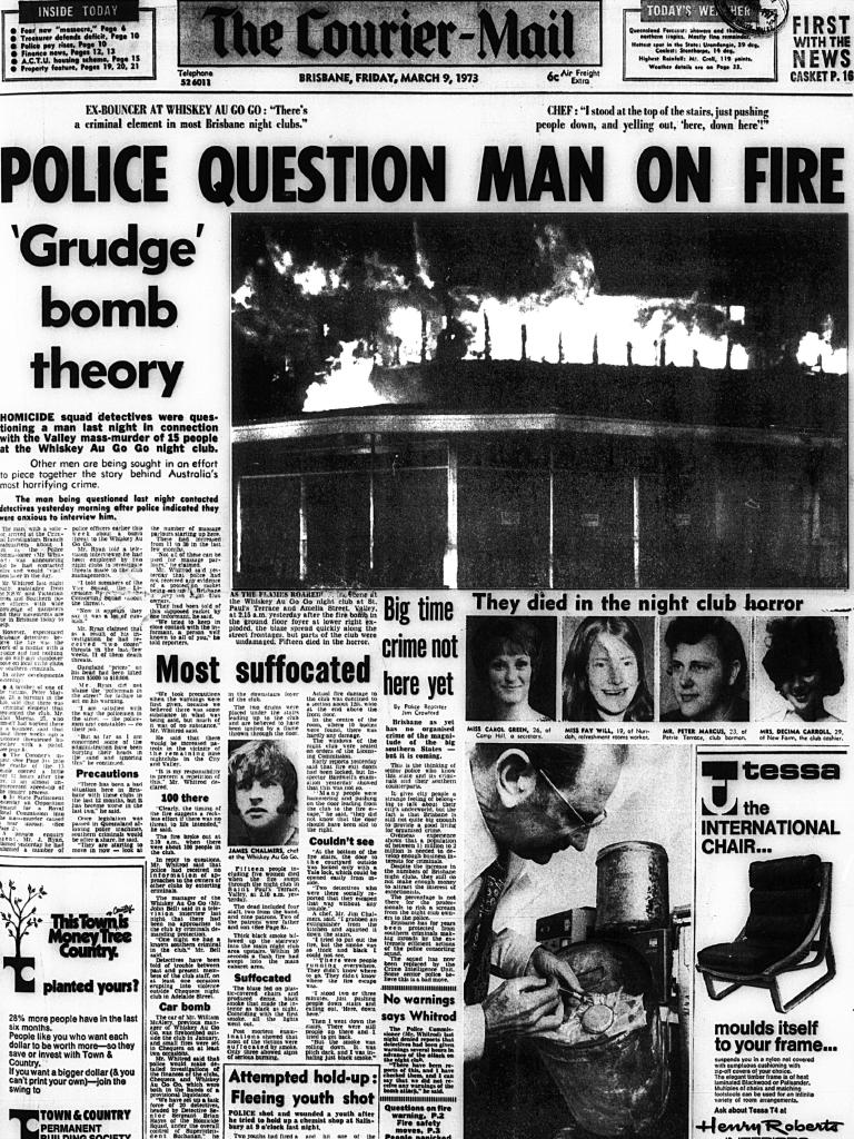 The Courier Mail - 9 March 1973 - Whiskey Au Go Go Picture: File