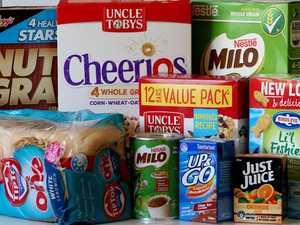 Health stars promoting bad food habits
