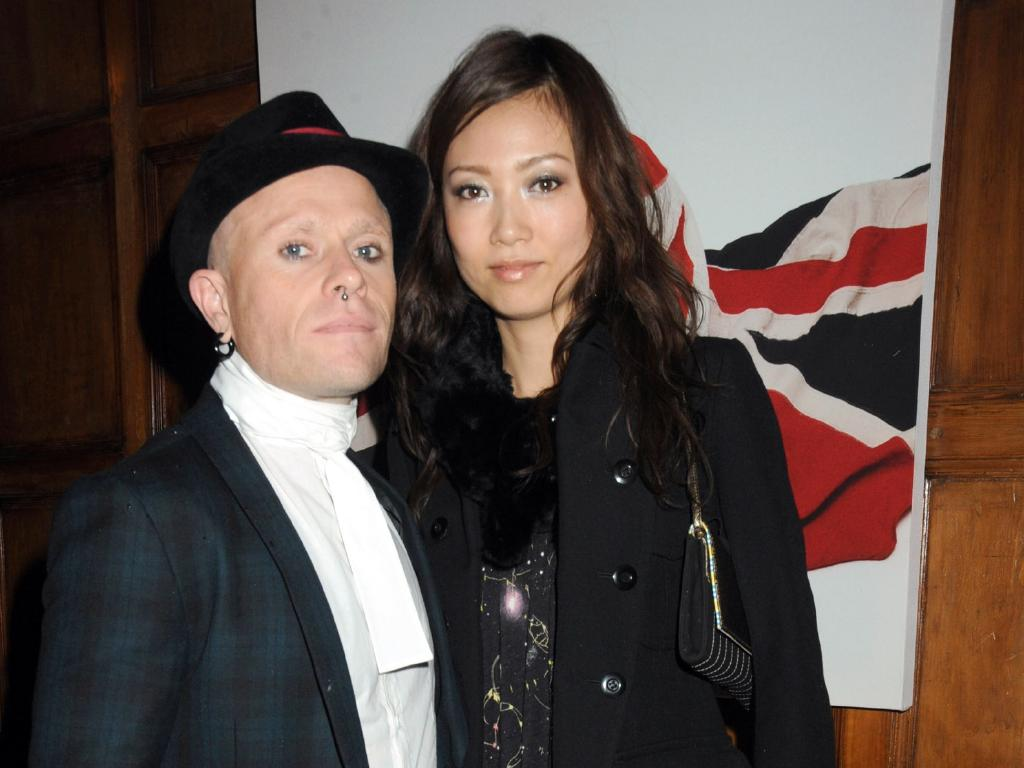 Keith Flint and guest attend the launch of Liam Gallaghers clothing line, Pretty Green, at the Gore Hotel on November 7, 2009 in London, England. Picture: Dave M. Benett/Getty Images