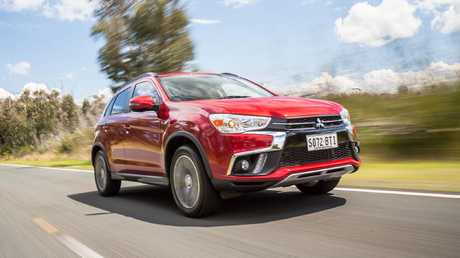 Mitsubishi ASX was the sales winner in February up more than 135 per cent. Shot by Thomas Wielecki