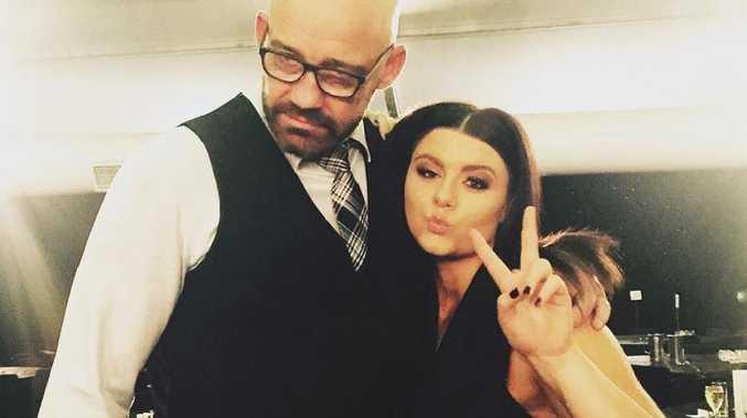 Montanna Geyer with her father Mark Geyer. Picture: Facebook