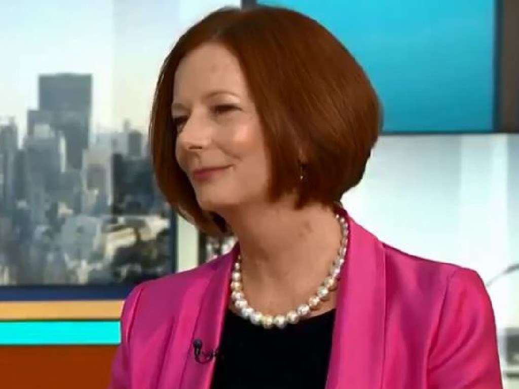 "Julia Gillard told Morgan he was being ""harsh"" on Australia."