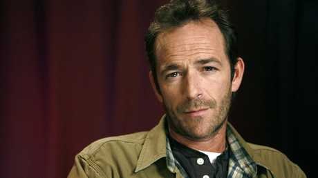 Actor Luke Perry, who played wealthy rebel Dylan McKay in Beverly Hills, 90210, died this week after a massive stroke. He was 52. Picture: AP/Jeff Christensen