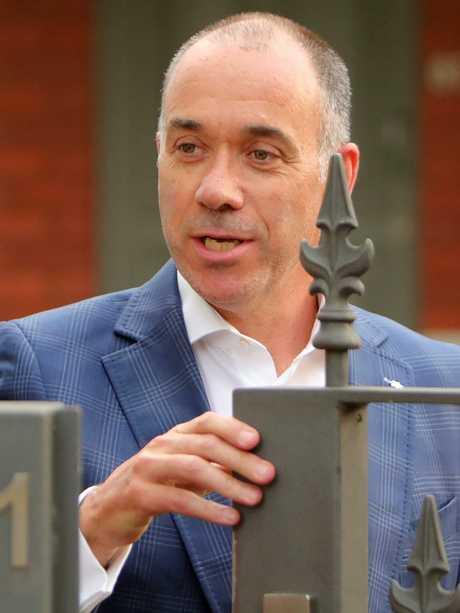 Former NAB CEO Andrew Thorburn. Picture: Stuart McEvoy