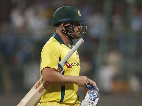 Aaron Finch continues to struggle for runs.