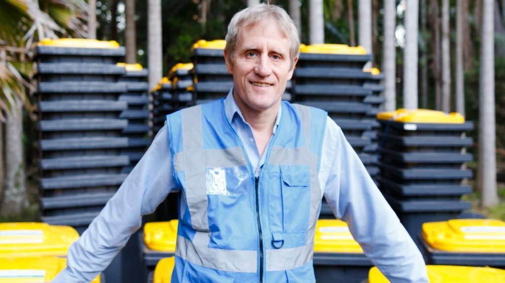 Owen Kessels from Reward Recycling.