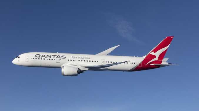A Qantas passenger had measles when she boarded the flight from Bali.