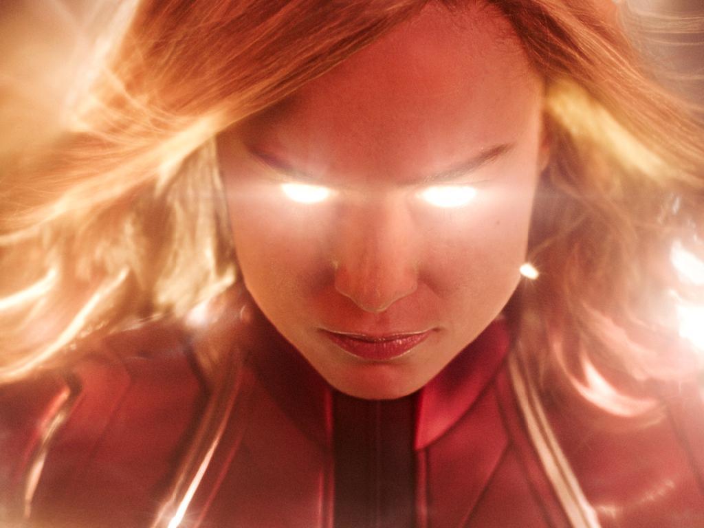 Brie is fierce as Disney's first female superhero. Picture: Disney-Marvel Studios via AP