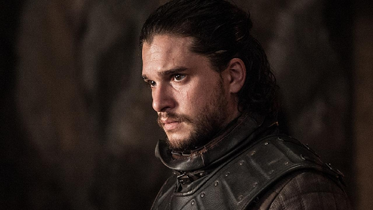 Jon Snow (Kit Harington) pictured in the final season of Game of Thrones. Picture: Supplied/ Foxtel
