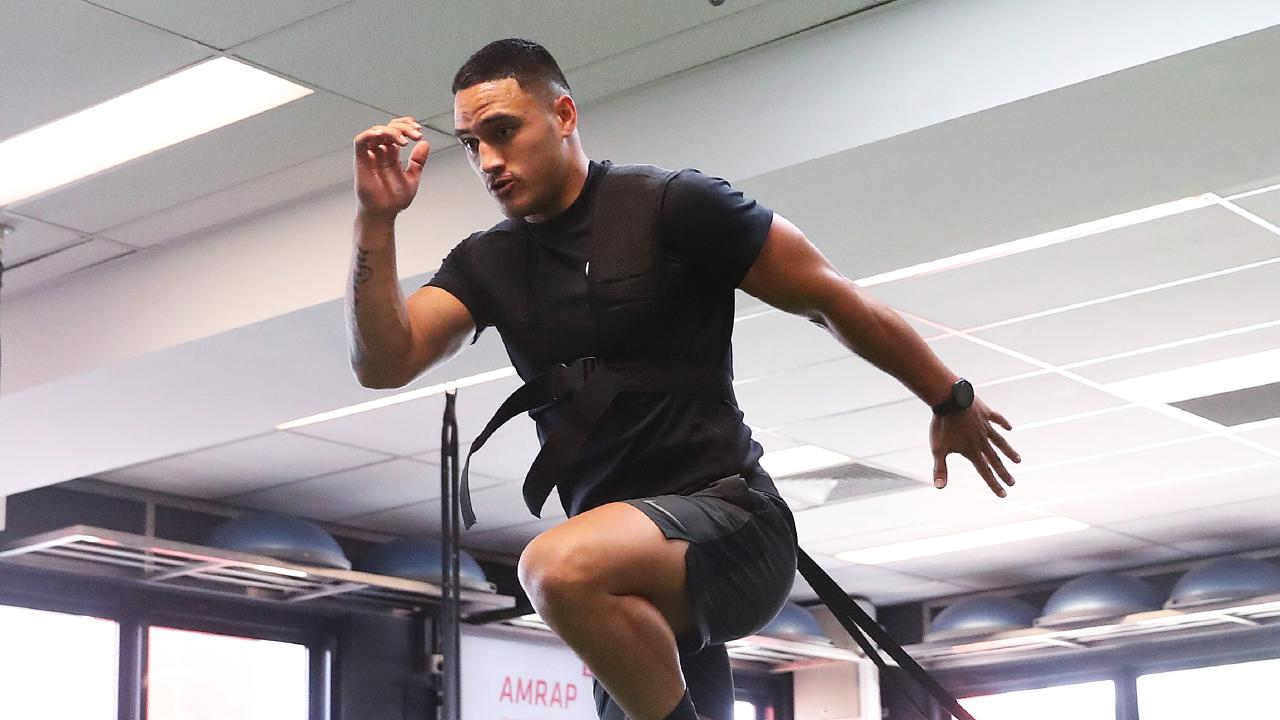 Valentine Holmes says he won't return to the NRL this season. Picture: Brett Costello
