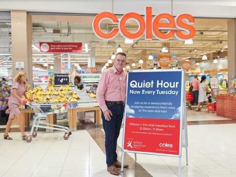 Coles' Quiet Hour is expanding across Australia. Picture: Supplied
