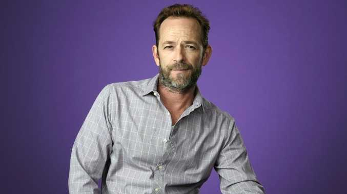 Luke Perry, has died after being hospitalised for a stroke. He was 52. Picture: Chris Pizzello/Invision/AP, File