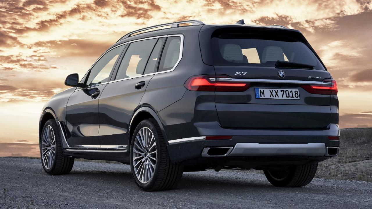 The BMW X7 is the brand's first seven-seat SUV.