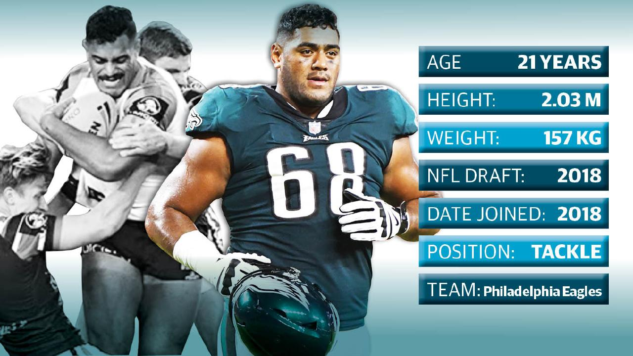 Jordan Mailata has the physical capabilities to succeed in the NFL.