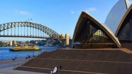 Sydney Opera House visitors are advised to be on the lookout also.