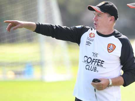Ken Stead during his time with Brisbane Roar. Picture: Ric Frearson