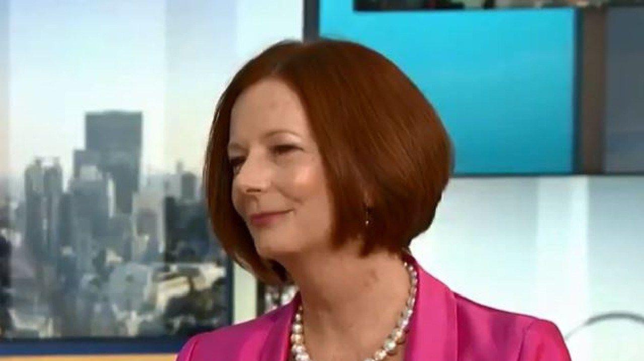 "Julia Gillard told Good Morning Britain Piers Morgan he was being ""harsh"" about Australia."