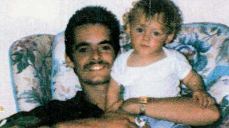 Bulger with his son James in 1991.