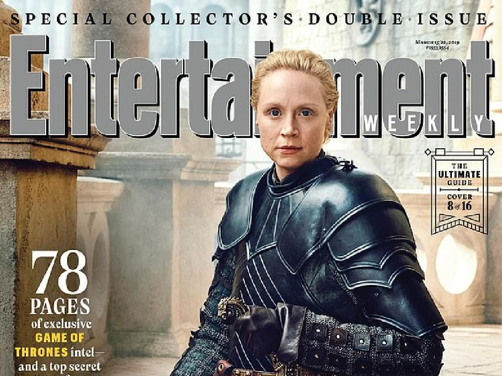 Brienne of Tarth (Gwendoline Christie). Picture: Entertainement Weekly