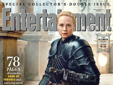 Brienne of Tarth (Gwendoline Christie). Picture: Entertainement Weekly