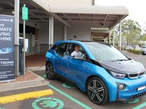 First electric car charging stations unveiled in city
