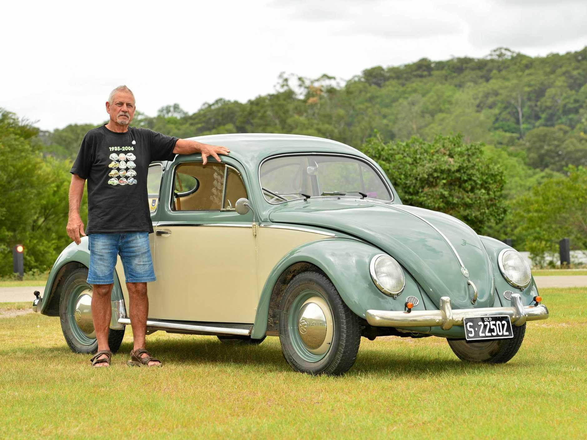 FOND MEMORIES: Rob Nixon's 1954 Volkswagen sedan.
