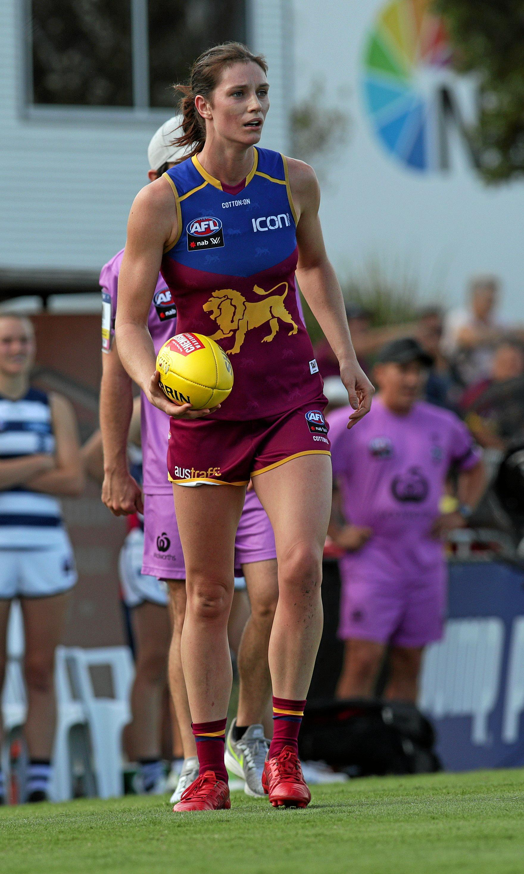 Gympie and Brisbane Lions AFLW star Jessy Keeffe has been named in the league team of the week in just her second game.